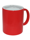 Кружка хамелеон красная