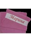 Полотенца с логотипом, именем, надписью на заказ.