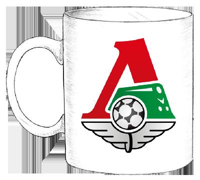 Сувенирные кружки с логотипом Локомотив